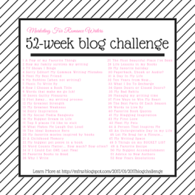 Author Robin Michaela - #MFRWauthor 52 Week #BlogChallenge