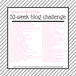 Author Robin Michaela - #MFRWauthor 52 Week #BlogChallenge