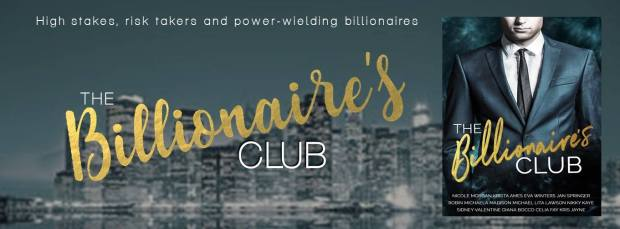 Buy The Billiionaire's Club at https://www.amazon.com/dp/B07B8F62HY