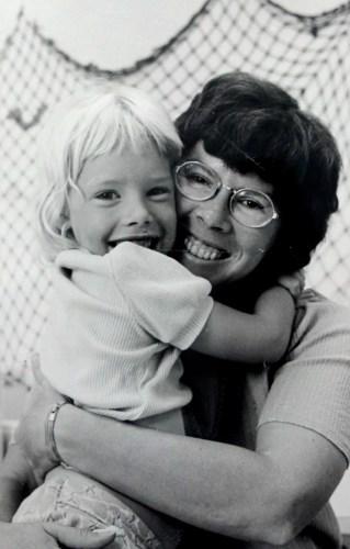 Chris and Mom 1970s