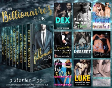 The Billionaire's Club at https://www.amazon.com/dp/B07B8F62HY
